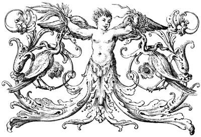 Decorative Ornament of a Child - Design Image Source