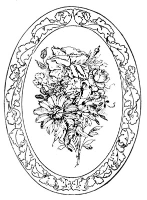 A Bouquet of Roses and Chrysanthemums - Design Image Source