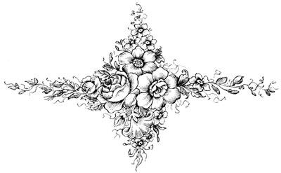 A Floral Decoration - Design Image Source
