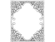 Decorative Floral Frame - Design Image Source