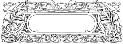 Rectangular Frame with Oval Opening - Design Image Source