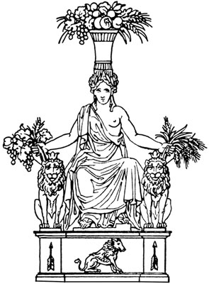 Decorative Ornament of a Woman - Design Image Source