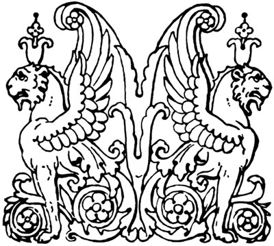 Winged Griffin Clipart Picture - Design Image Source