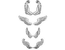 Angel Wings Clip Art Images - Design Image Source