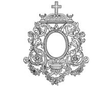 Decorative Oval Picture Frame - Design Image Source