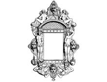 Decorative Rectangle Picture Frame - Design Image Source