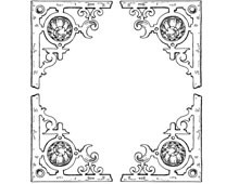 Decorative Corner Clipart - Design Image Source