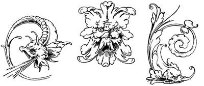 Decorative Creature Clipart - Design Image Source
