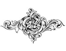 Floral Decorative Clip Art - Design Image Source