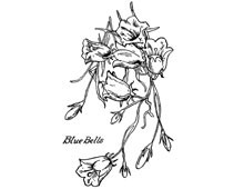 Blue Bells Clip Art Picture - Design Image Source