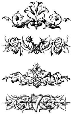 Decorative Dividers Clip Art