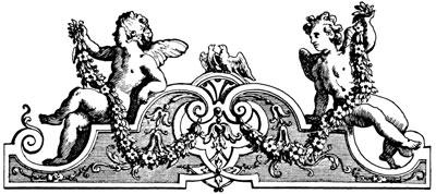 Decorative Ornament with Cherubs