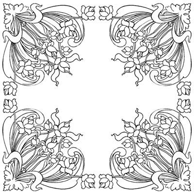 Decorative Floral Corners Design Image Source