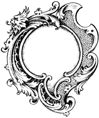 Round Frame Clipart - Design Image Source