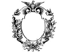 Oval Decorative Frame - Design Image Source