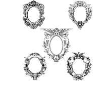 Collection of Vintage Frame Clipart - Design Image Source