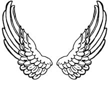 Angel Wings Clipart - Design Image Souce
