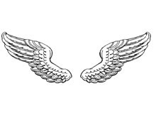 Angel Wing Clipart Image - Design Image Source
