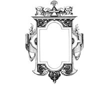 Vintage Rectangle Frame Clipart
