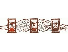 Hourglass with Wings Picture