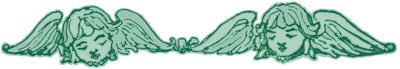 Two Winged Cherub Heads