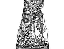 Saint George and Dragon Image
