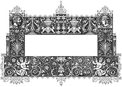 Clipart Flower Border Frame