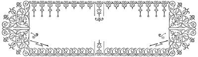 Floral Border Frame Design