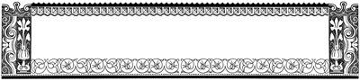 Flower Border Frame Clip Art