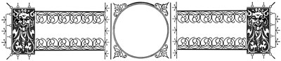 Ornate Clipart Circle Frame