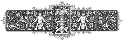 Vintage Floral Banner